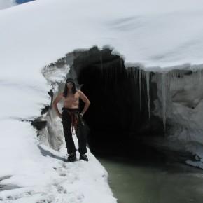 ледник, ледовые занятия пик Ленина