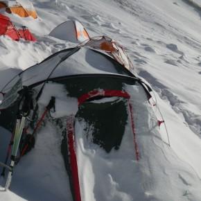 лагерь 2, пик ленина