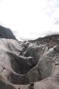 Трещины ледника