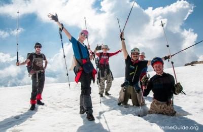 Альпинисты в Сванетии
