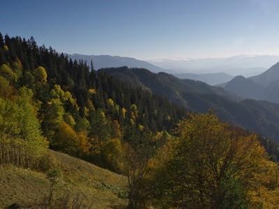 Горы Грузии