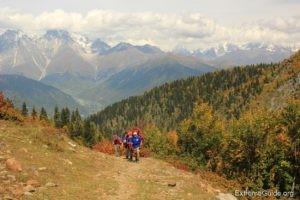 Осенние краски Грузии