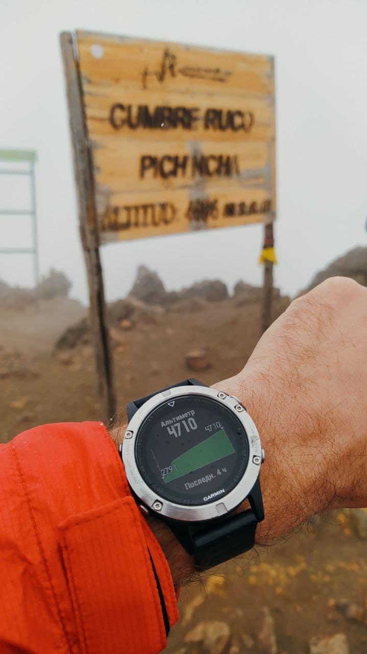 эквадор вулкан Пичинча