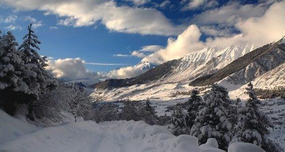 Горнолыжные склоны Кавказа