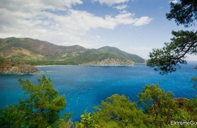 Бухта в Средиземном море