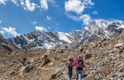 Фанские горы, восхождение на пик Энергия