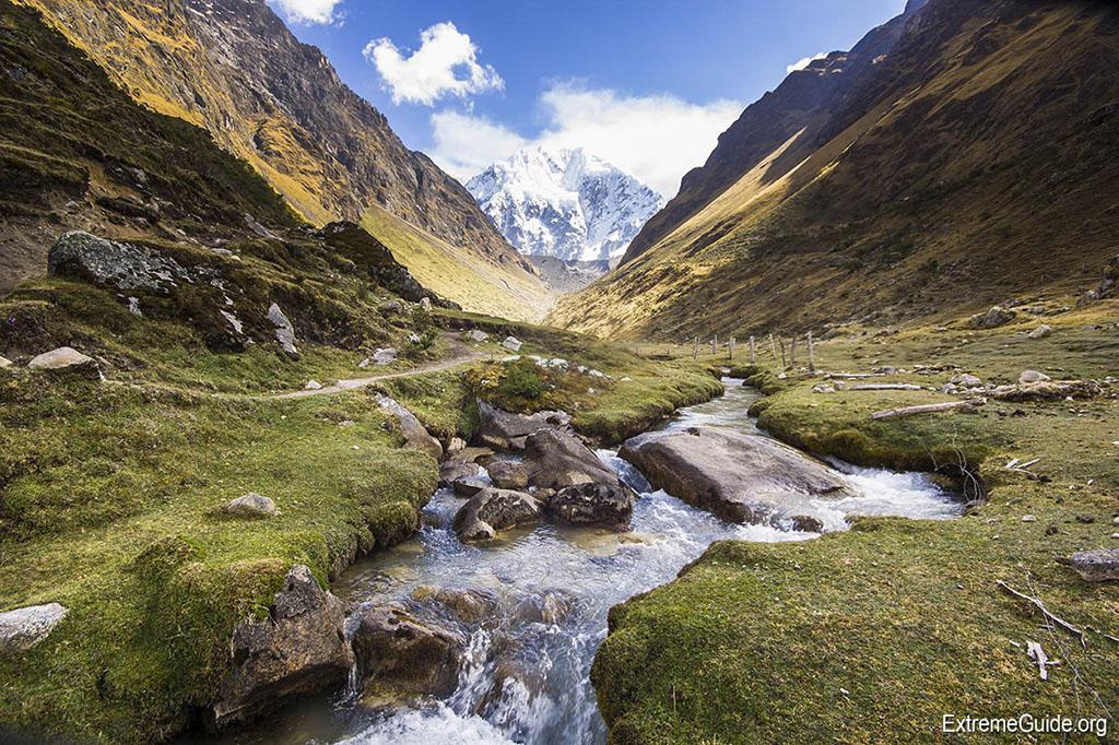 В горах Перу