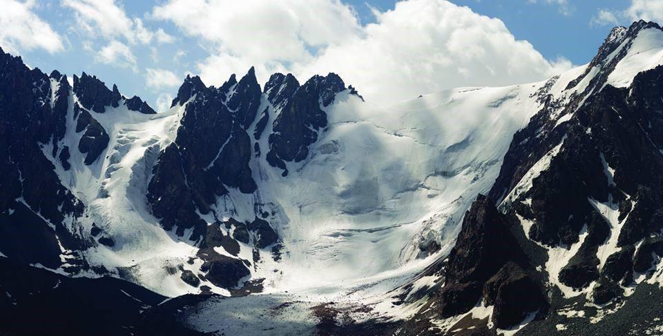 Вершина Иглы Туюк-Су (4 213 м.), Заилийский Алатау, маршрут прохождения 4А кат. трудности