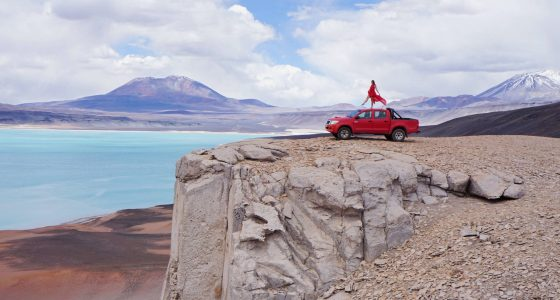 восхождение на Охос дель саладо чили