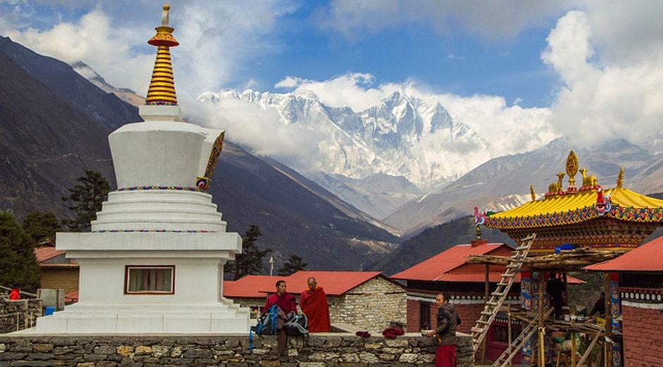 монастырь тянгбоче треккинг к эвересту