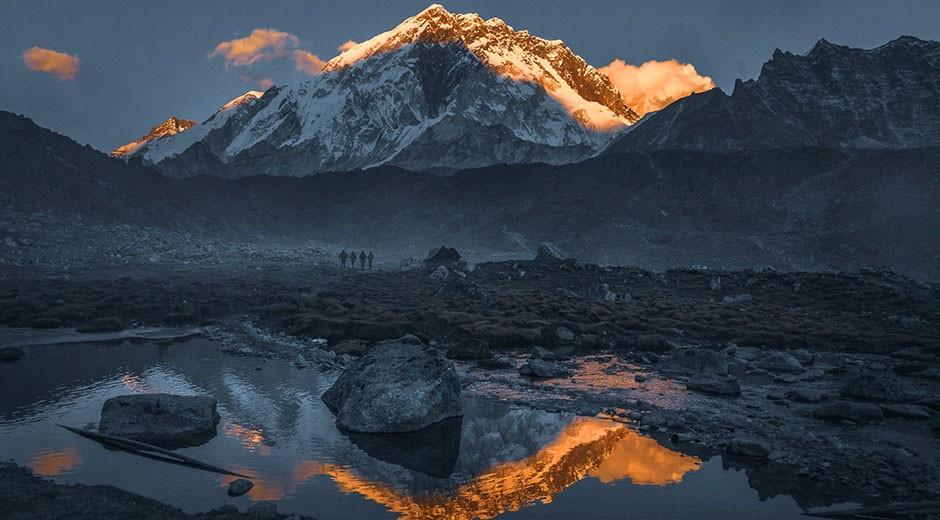лагерь лобуче треккинг к эвересту