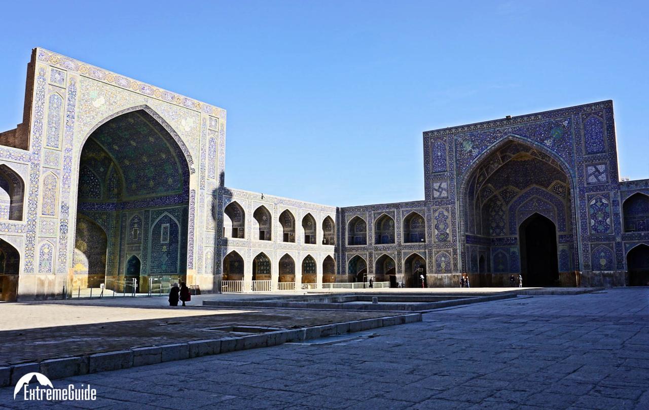 исхафан голубая мечеть