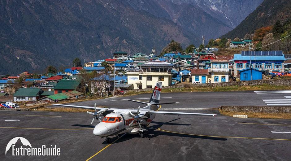 аэропорт лулка стартовая точка трека к эвересту