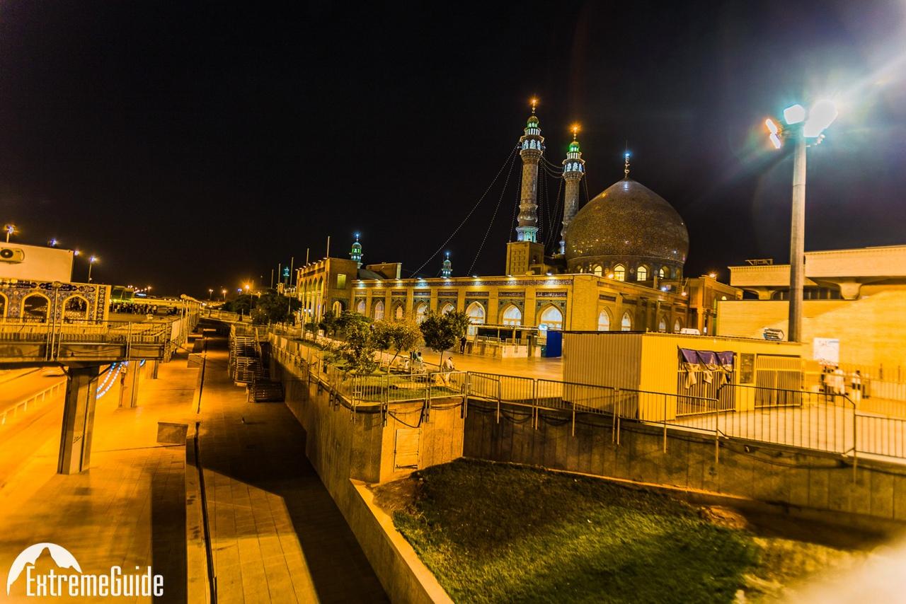 город кум ночью тур в иран