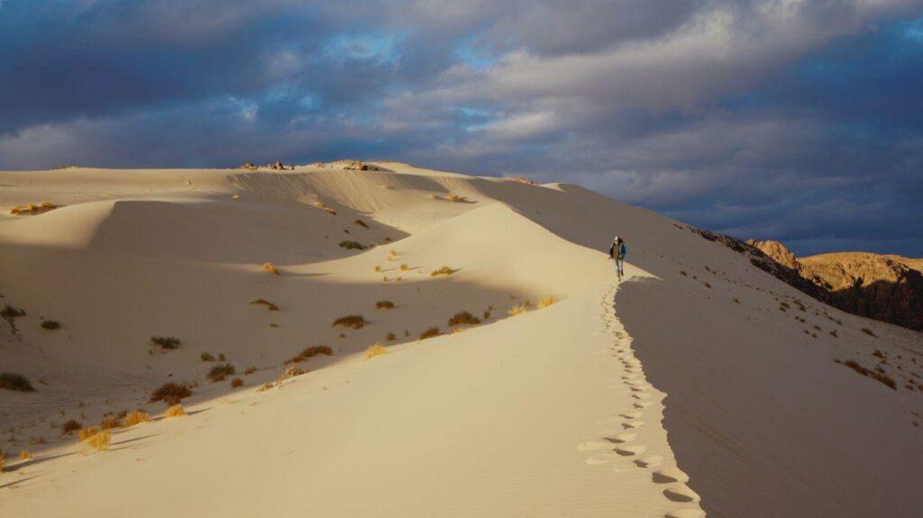 закат в синайской пустыне
