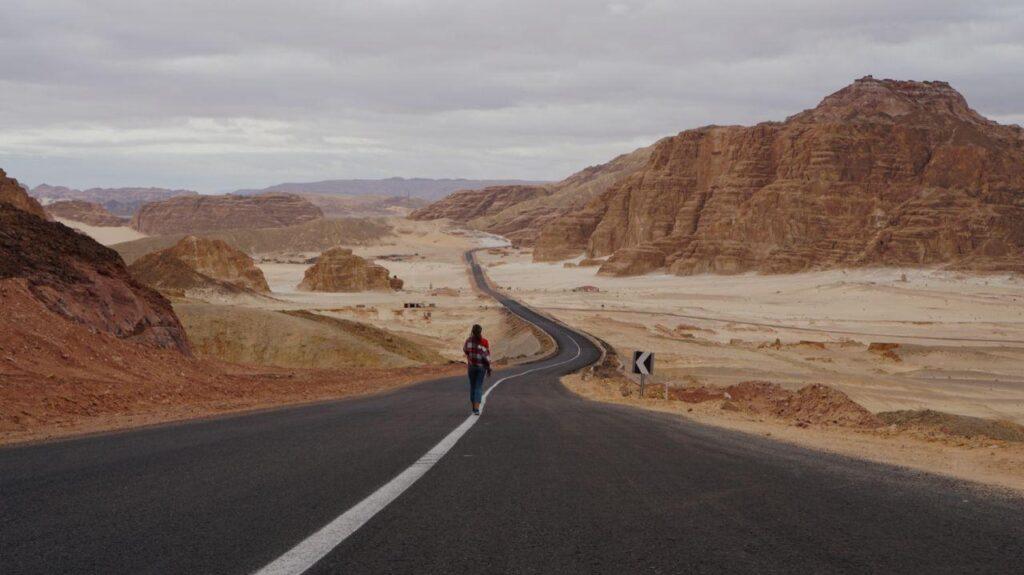 синайская пустыня гора милехес восхождение