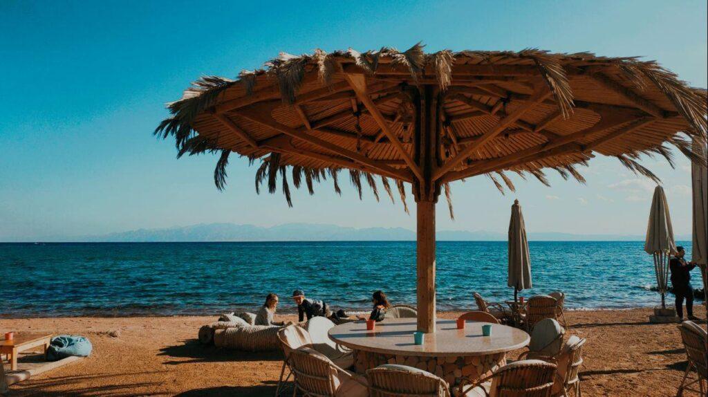 Дахаб берег красного моря