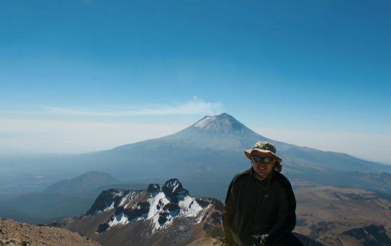 вершина вулкан ла малинче восхождение