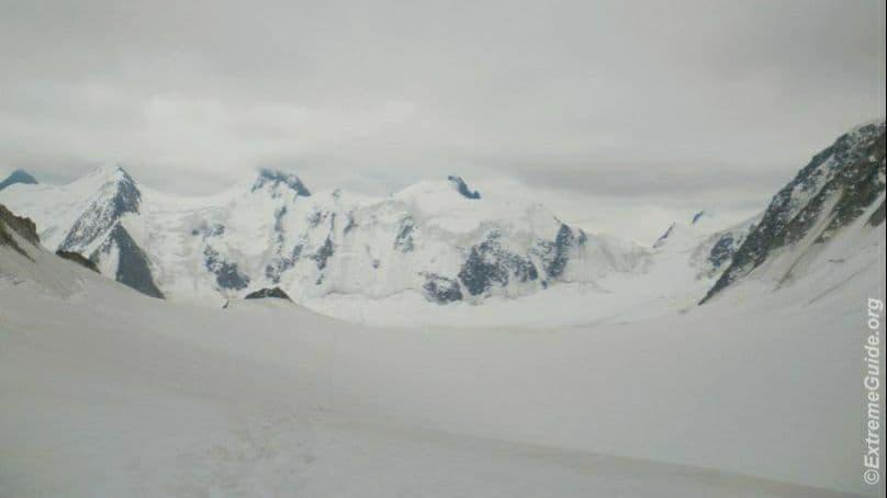 ледник менсу белуха