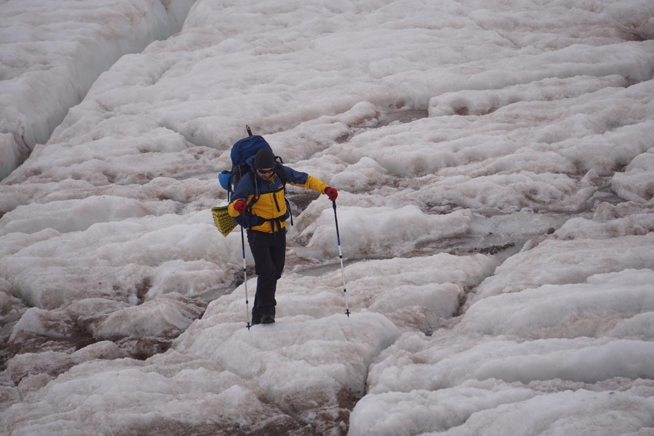 ледник гертери казбек