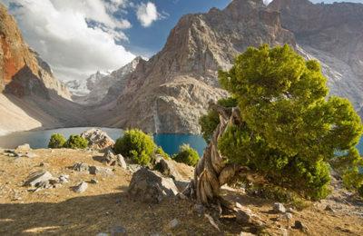 Фанские горы, Алаудинские озера