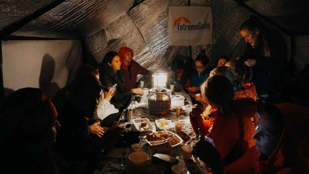Лагерь 2 на Арарат