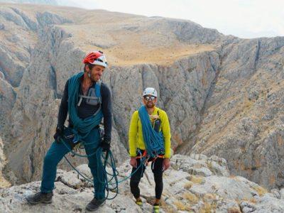 восхождения в Аладагларе, альпинизм и скалолазание в турции