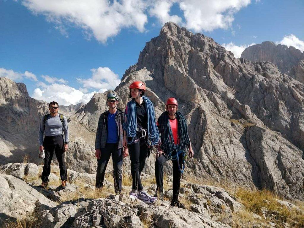 альпинизм в аладагларе, восхождения и скалолазание аладаглар
