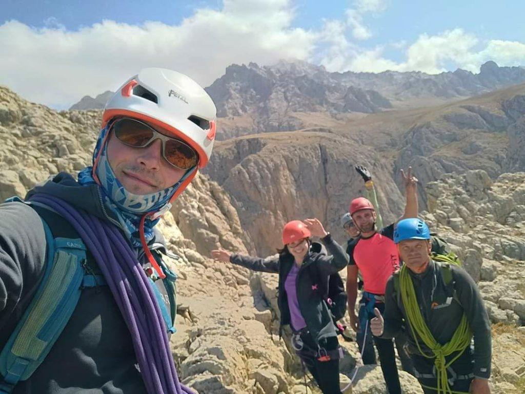 скальные восхождения в аладагларе